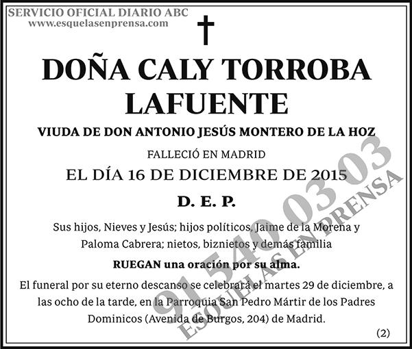 Caly Torroba Lafuente